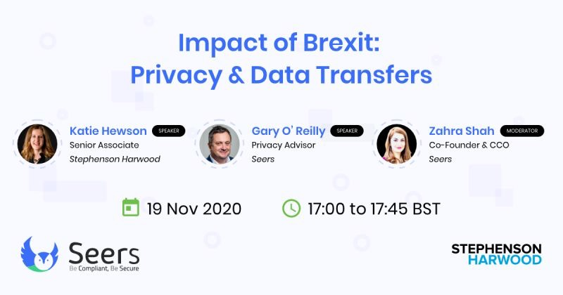 Privacy Webinar on Brexit